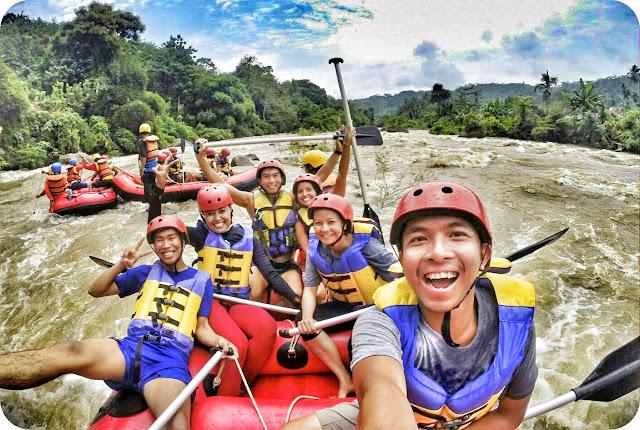 Rafting Muara Enim Sumatera Selatan