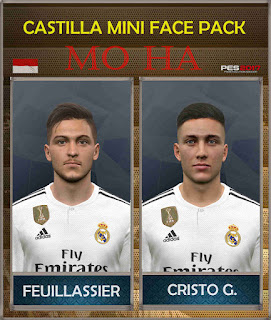 PES 2017 Castilla Mini Face Pack by Mo Ha