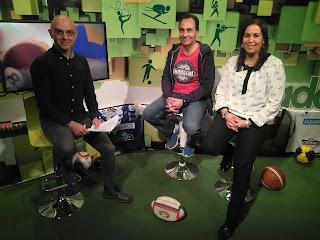 entrevista 9 aniversario television www.mediamaratonleon.com