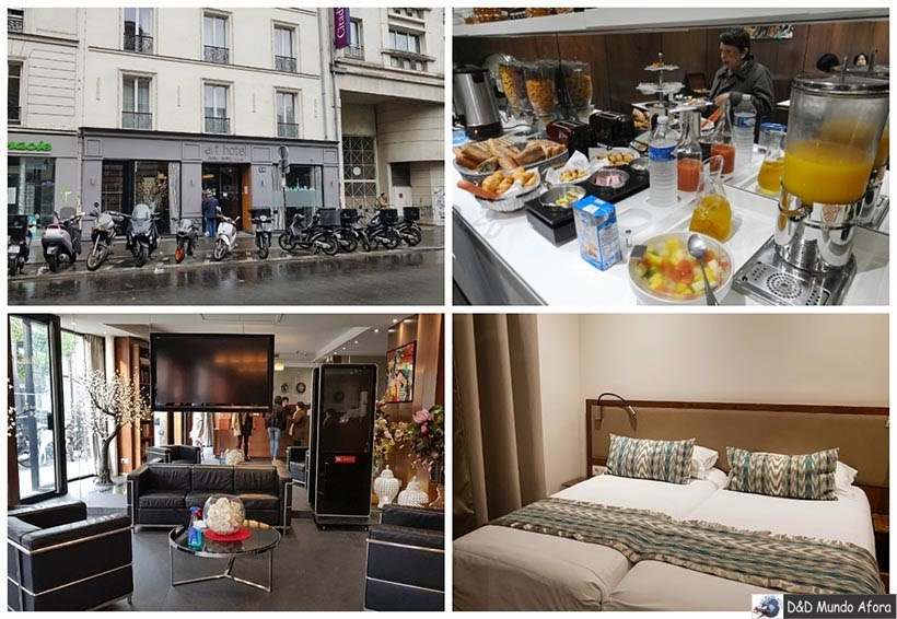 Art Hotel Eiffel - Diário de Bordo - 3 dias em Paris