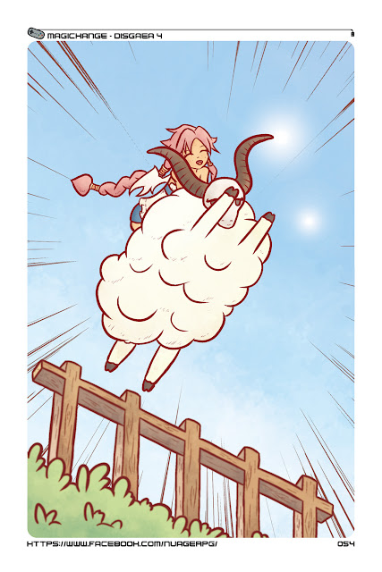 Disgaea 4 sheep