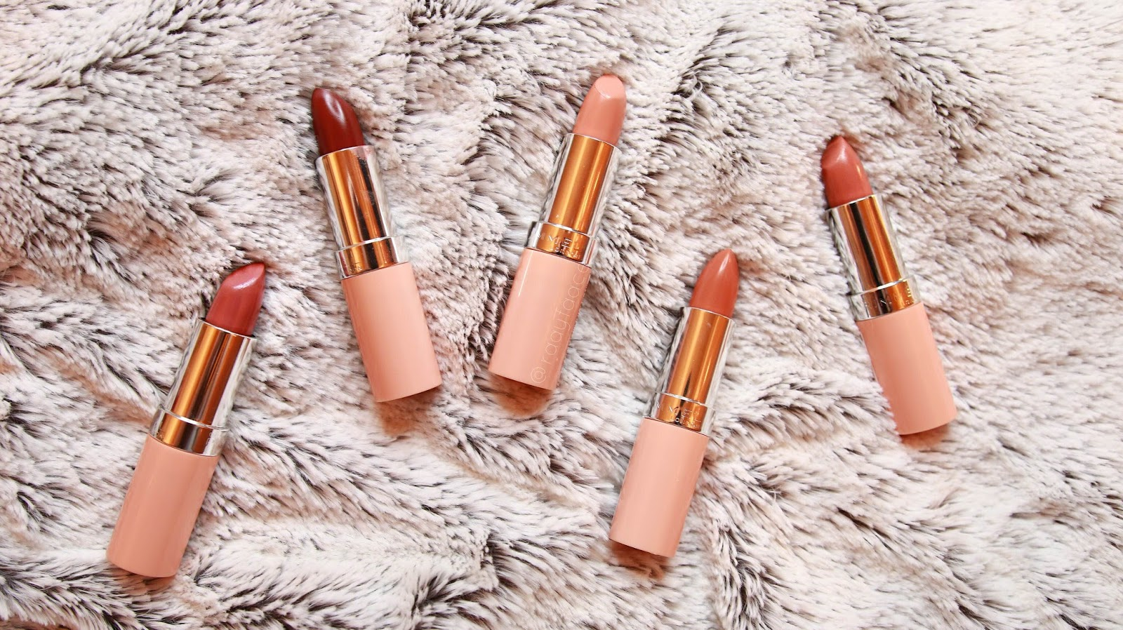 Kate Moss Rimmel Nude Collection Swatches