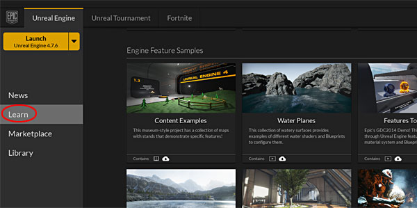 Create UE4 Projects From File Examples ~ Augmented Reality Environment
