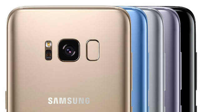 Choose YOUR Samsung Galaxy S8 from a variety of colors