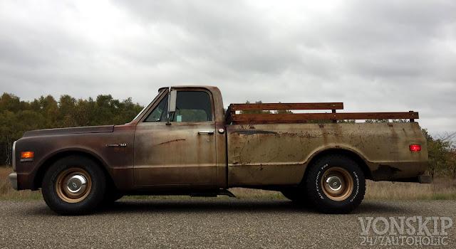 247 AUTOHOLIC: Skippic Saturday - 1969 Chevy C10 Truck