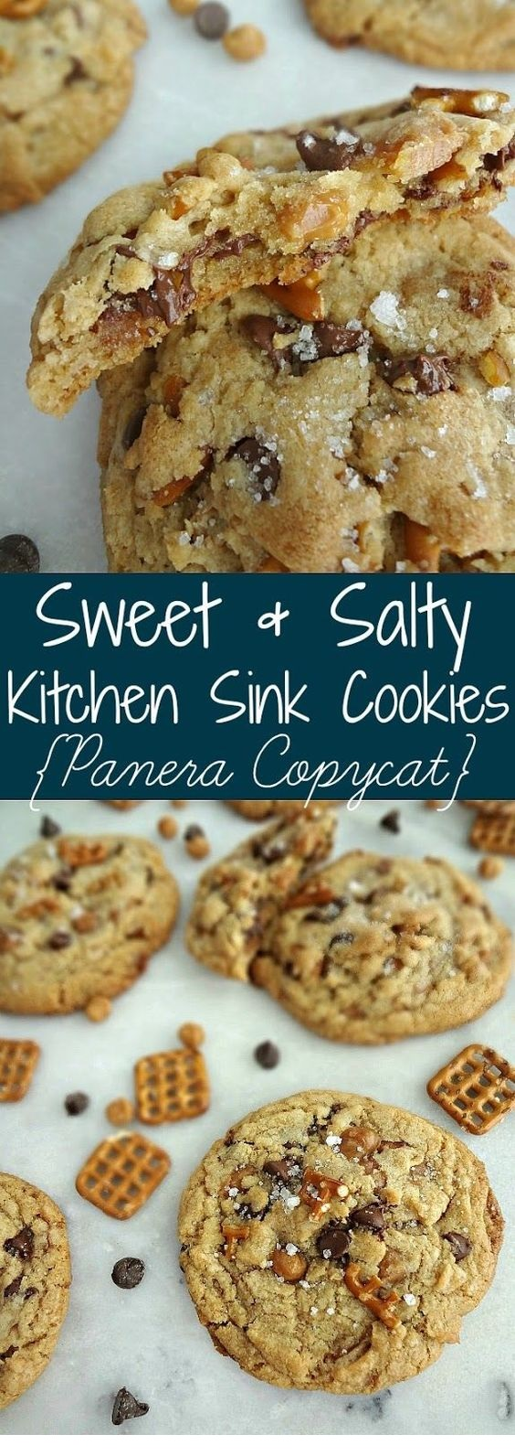 Sweet & Salty Kitchen Sink Cookies