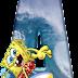 Alfabeto de Bob Esponja Haciendo Surf con Minúsculas.