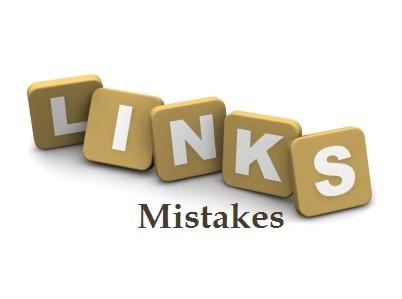 Kesalahan dalam membangun backlink