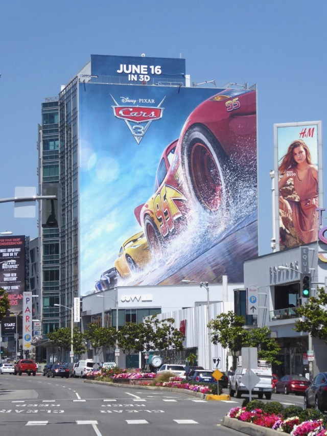 Daily Billboard Cars 3 Movie Billboards Advertising For Movies Tv Fashion Drinks Technology And More
