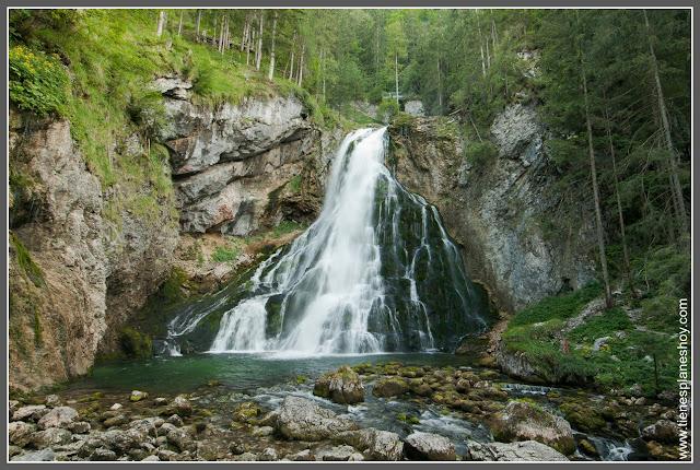 Cascada de Golling (Golling Wasserfall Austria)