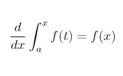 النظرية الأساسية التفاضل والتكامل