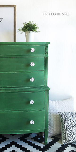 chippy furniture, distressed, milk paint dresser, green dresser, shabby chic dresser, distressing with milk paint, painted dresser