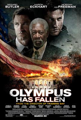 Poster Film Olympus Has Fallen