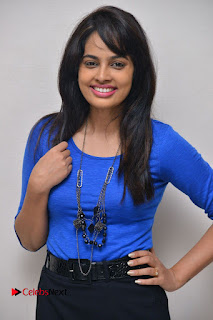 Actress Nandita Swetha Stills in Black Mini Skirt at Ekkadiki Potavu Chinnavada Movie Special Show  0006.JPG