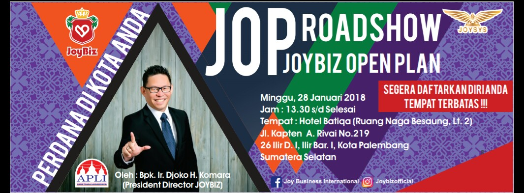 Presentasi JOP Perdana Joybiz di Kota Palembang