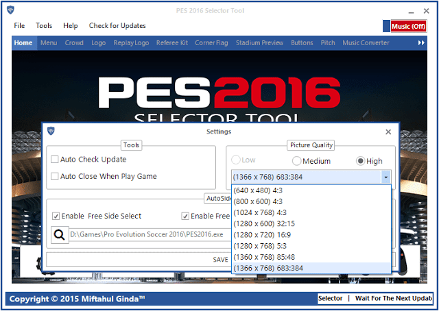 PESGalaxy Patch 2016 v1.00 – Patch PES 2016 Latest is here