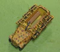 Sd Kfz 251/1 Stuka halftrack (12mm)