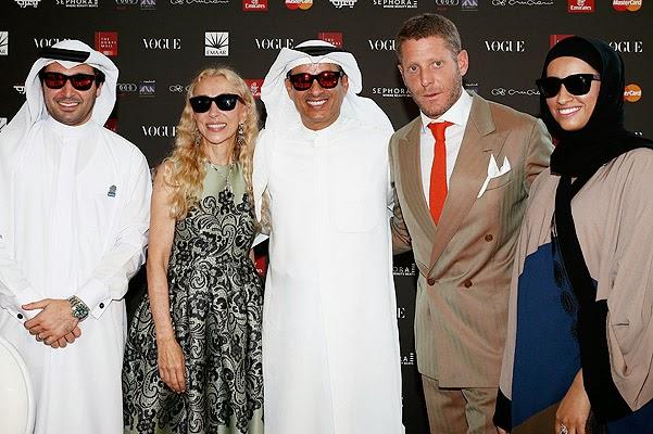 Frank Sotstsani ,Miroslava Duma and other members of the fashion ...