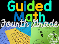 Guided Math Year Long Resources for 4th Grade