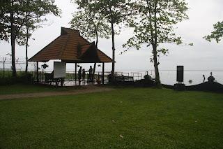 View of the Vembanad Lake from Taj Kumarakom