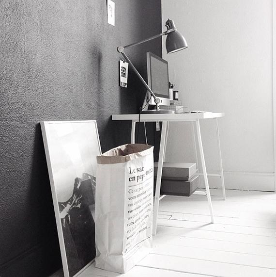 Scandinavian inspired home offices | apieceofcake82 on instagram