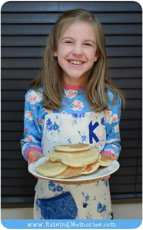 Dinners Kids can Make Pancakes