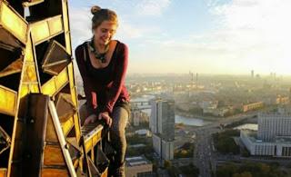 foto sebelum Xenia Ignatyeva selfie
