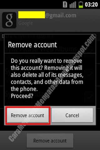 Cara Menghapus Akun Gmail Di Android Bekas Atau Second
