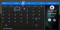 update calendario pes 2013