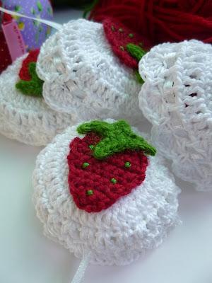 Häkeln Im Quadrat Erdbeerparade