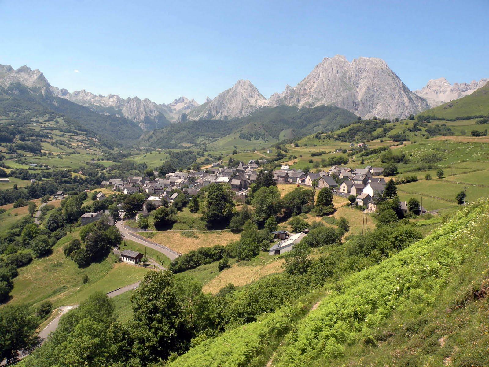 Resultado de imagen de El valle de Aspe