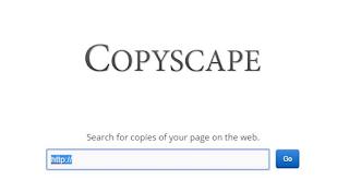 copyscape plagiarism checker