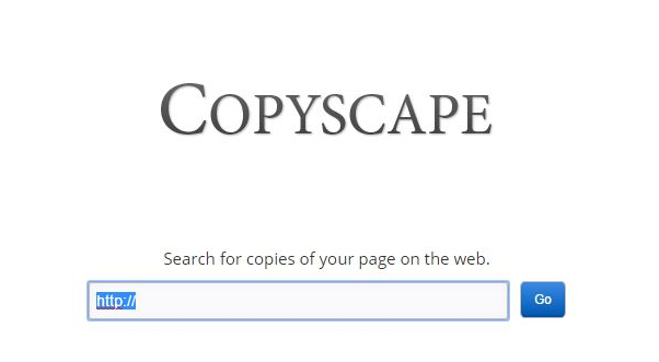 Copyscape Alternative