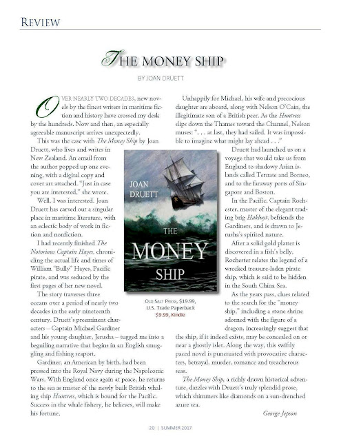 Review of THE MONEY SHIP in Quarterdeck