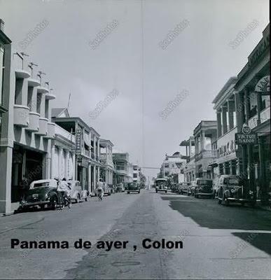 Ramillete de fotos del Panamá de ayer