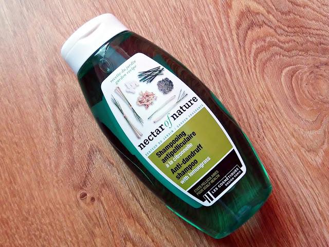 Nectar Of Nature - Szampon przeciwłupieżowy z trawą cytrynową, opakowanie