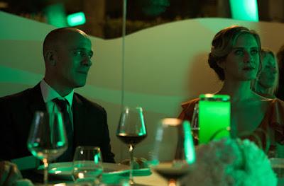 Javier Gutiérrez (Álvaro) y María León (Amanda)