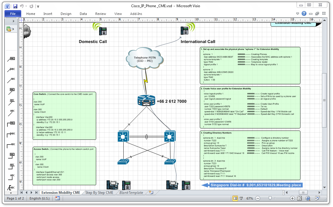 Configuring Cisco IP Phone Extension Mobility in CME ~ Cisco
