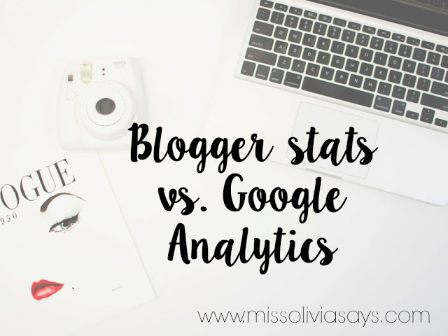 What is the difference between Blogger statistics and google analytics when it comes to pageviews