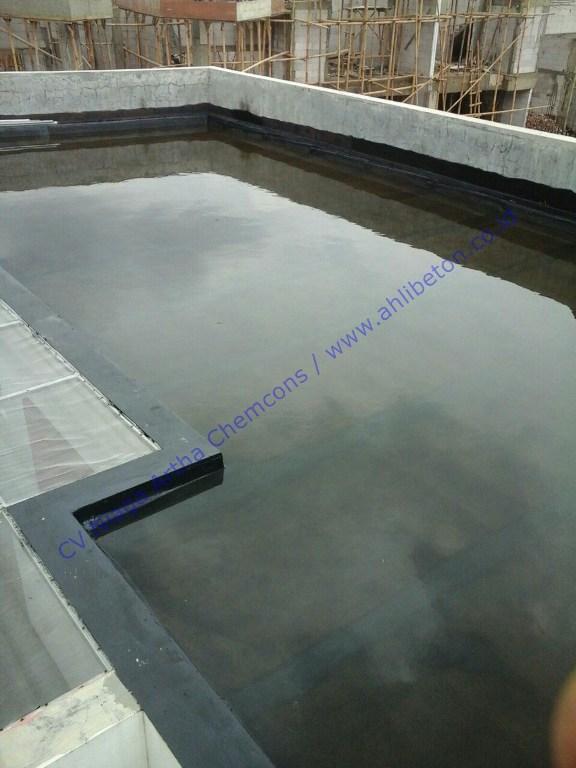 Waterproofing Membrane Bakar Pada Rumah Tinggal
