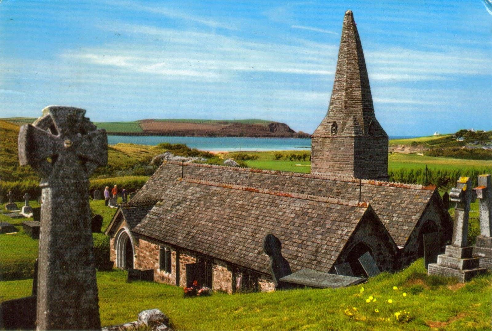 St Enodoc Church, Near Rock, Cornwall