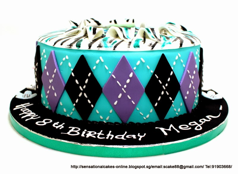 The Sensational Cakes Monster High Frankie Stein