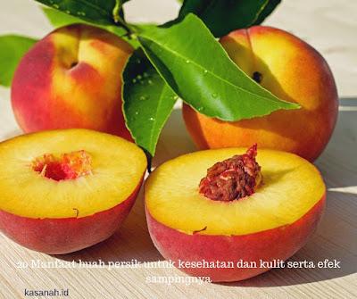nama lain buah persik