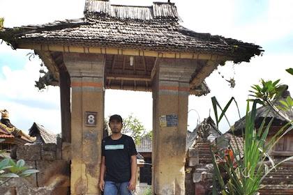 Desa Wisata Tradisional Penglipuran di Bangli