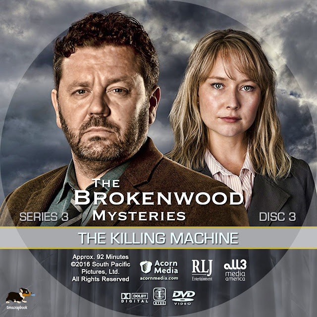 The Brokenwood Mysteries Season 3 Disc 3 DVD Label
