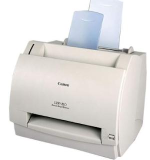 Controlador de impresora Canon LBP 810 para Windows 7