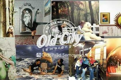 Old City 3D Trick Art Museum Semarang - Gambar, Harga Tiket Masuk, Alamat Lokasi & Rute