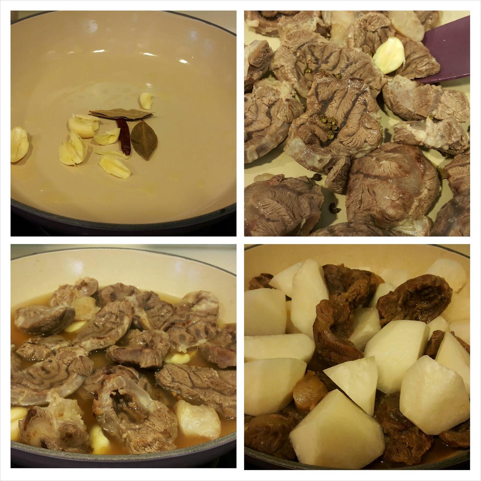 羅漢果蘿蔔炆和牛腱Stewed Wagu beef Shank with Raddish and Fruit of Grosvenor ~ Rita Shum