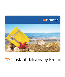 Snapdeal cleartrip e-gift card