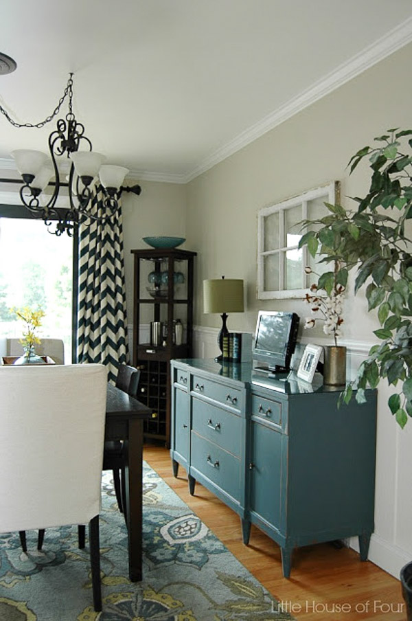 Modern Farmhouse Dining room before